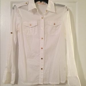 Tory Burch white button up